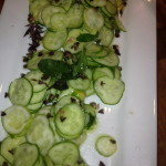 Cucumber and Basil Salad with Cumin Lime Dressing