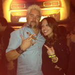 with Guy Fieri in NYC