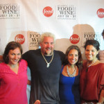 With Cast of Season 7 at Atlantic City Food and Wine Festival