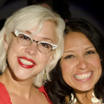 All smiles at Aspen Food and Wine Classic with Emily from Season 8 of Food Network Star